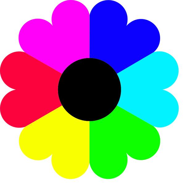 Flower 7 colors