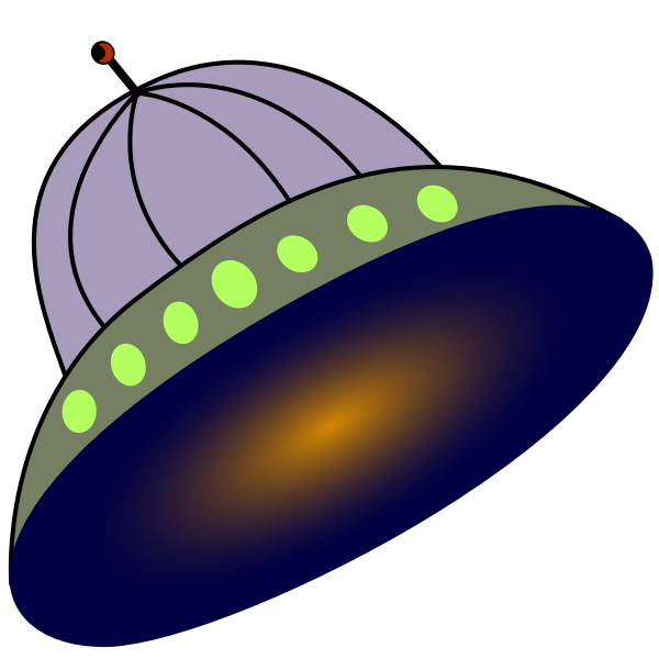 Flying saucer image