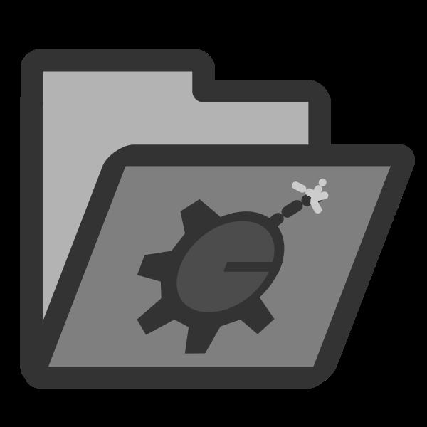 Folder bomb icon