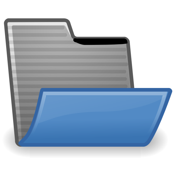 Accepting folder icon