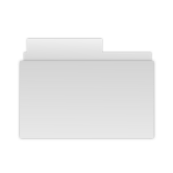 Gray folder