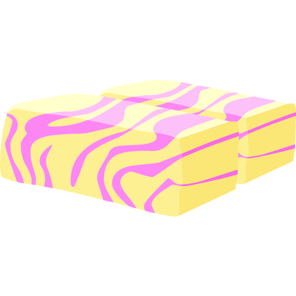 Colorful butter