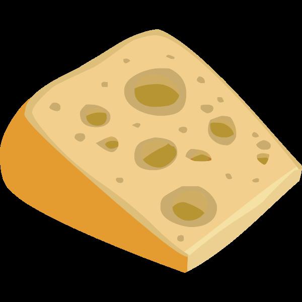 Stinky cheese slice