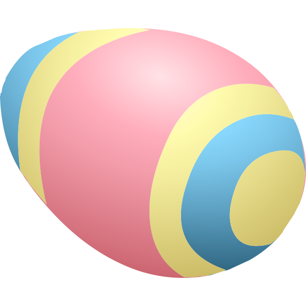 Colorful egg