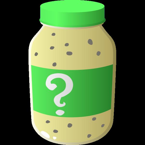 Jar of secret sauce