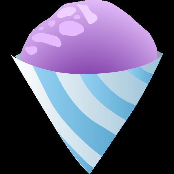 Sno cone purple