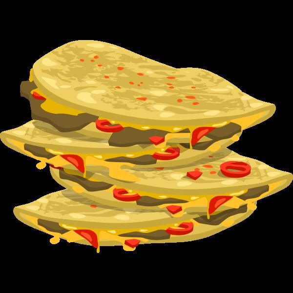Spicy quesadilla