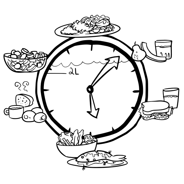 horário das refeições