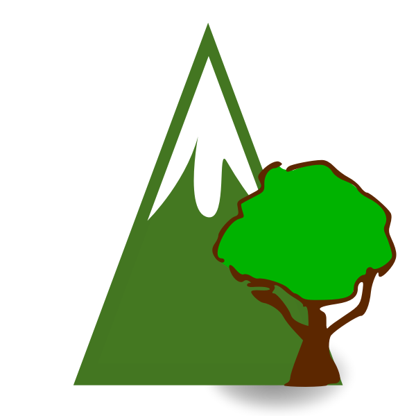 Forested mountain