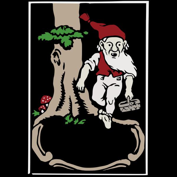 Forest elf frame