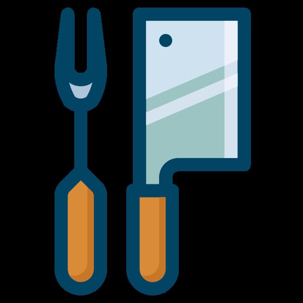Fork & cleaver