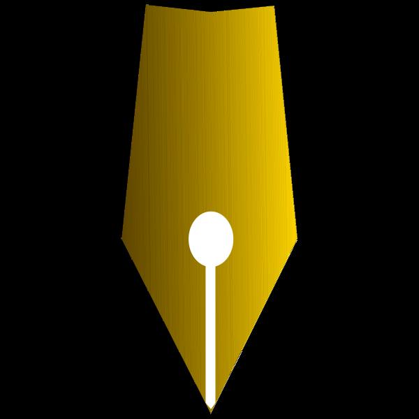 Fountain Pen Tip Golden