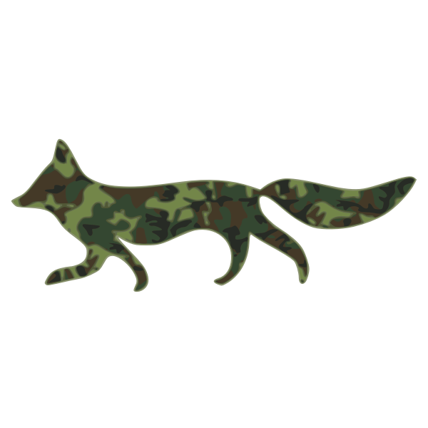fox camouflage pattern