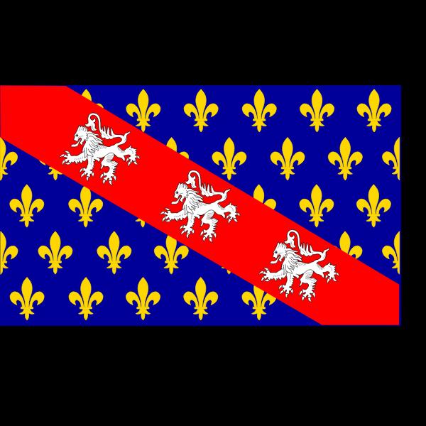 Marche region flag vector graphics