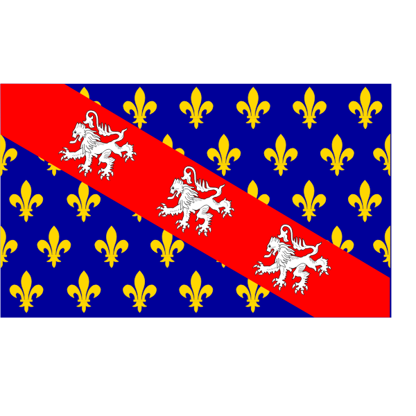 Marche region flag vector graphics