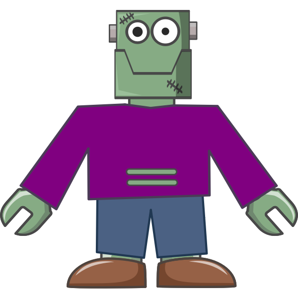 cartoon Frankenstein-1576595535