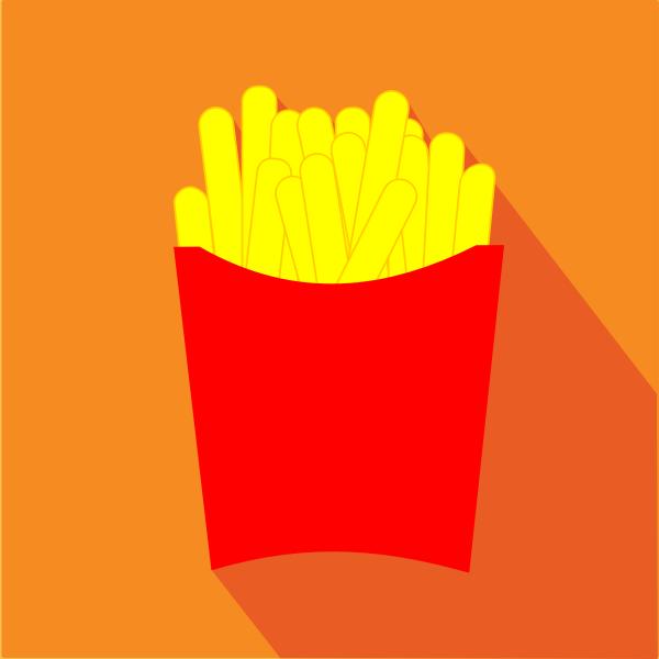 French fries symbol