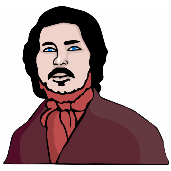 Friedrich Engels vector image