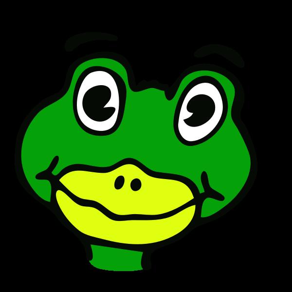 drawn frog