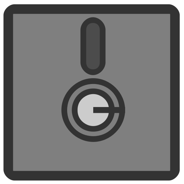 Floppy disk vector isymbol
