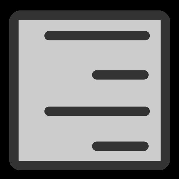Align right software icon