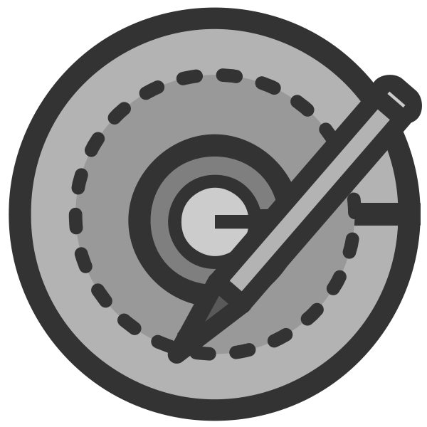 CD writer icon