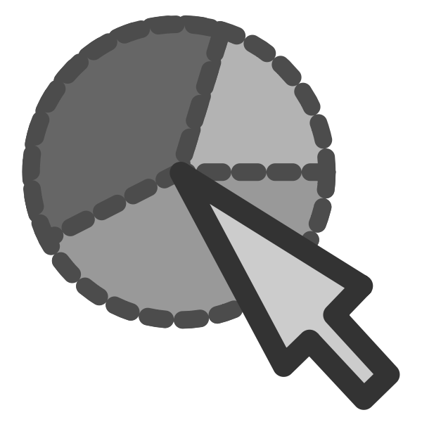 Edit pie icon