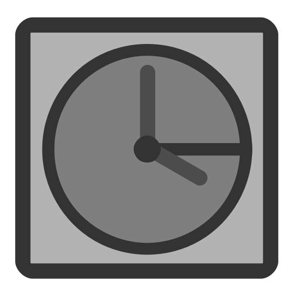 Temporary file computer icon