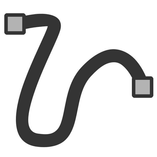 Freehand line icon
