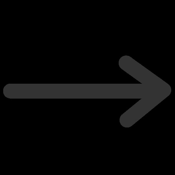Line line arrow end