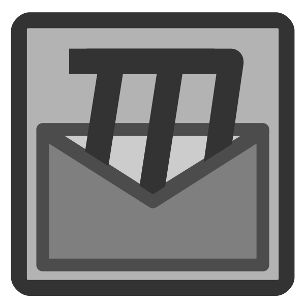 Mozilla mail icon