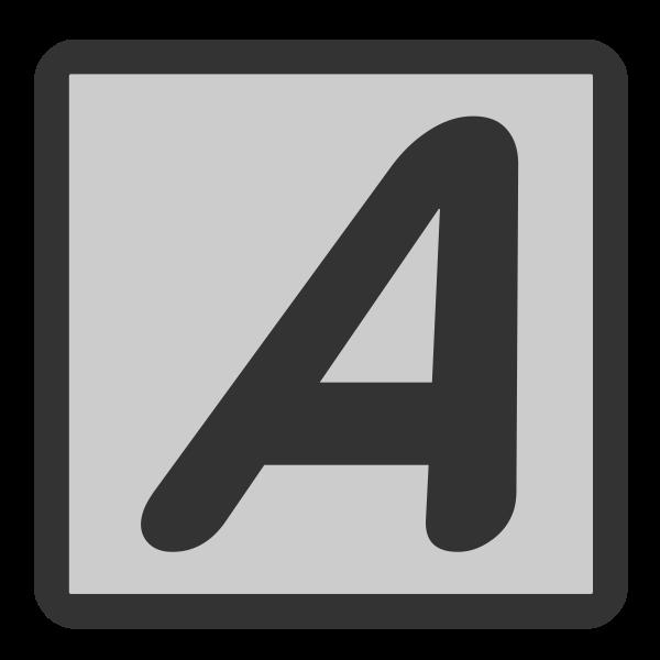 Text Italic icon