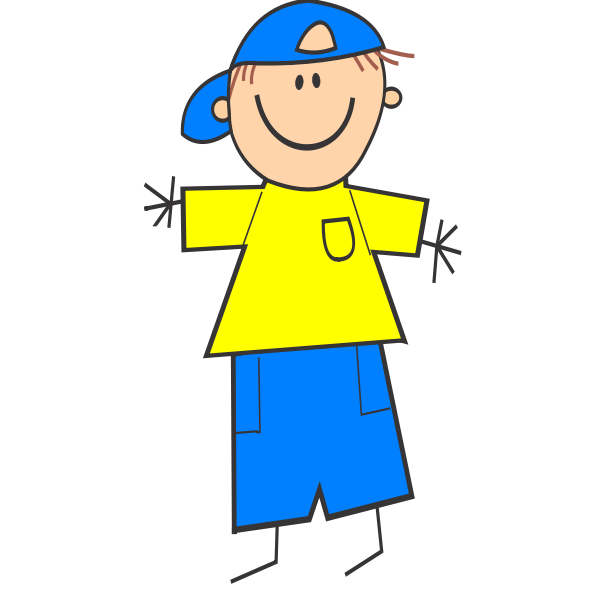 Boy with cap