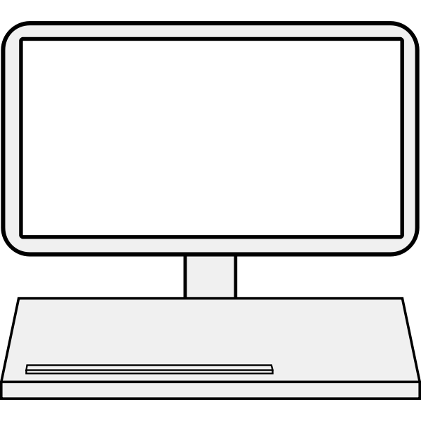 Client icon vector image