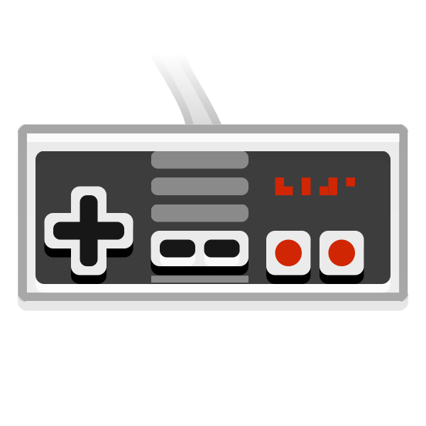Gamepad vector illustration