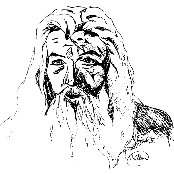 Gandalf's drawing