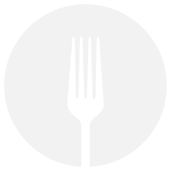 Fork silhouette vector image