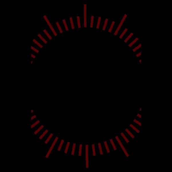 Minute graduation vector mage