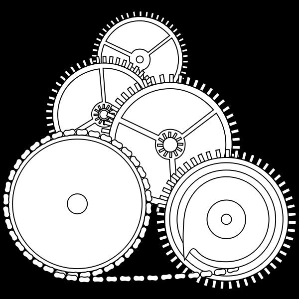 Gears in 2D