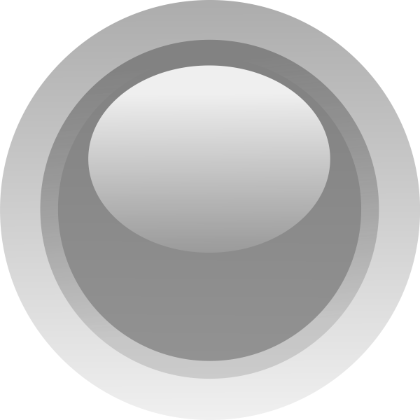 Grey led round vector drawing