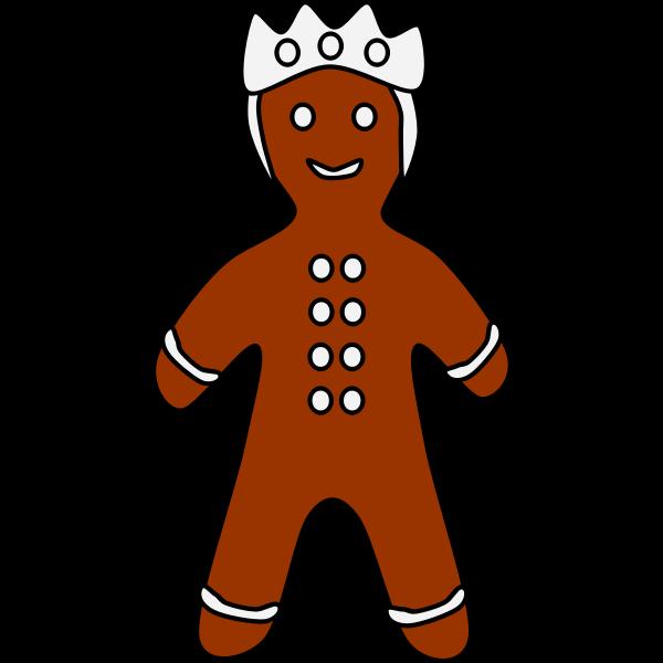 Gingerbread king