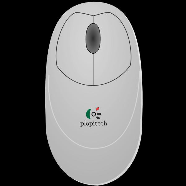Vector clip art of computer mouse