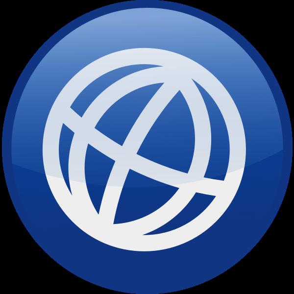 Globe vector icon image