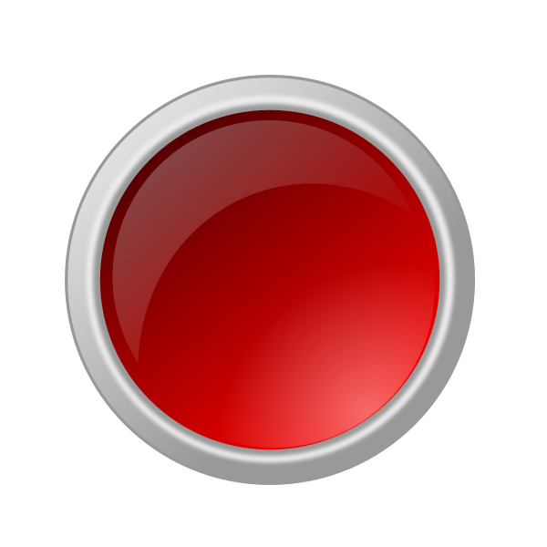 Dark red button in gray frame