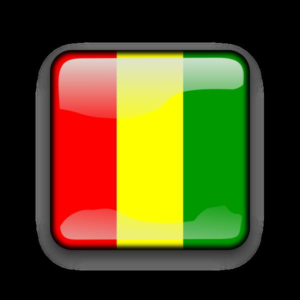 Guinea country button
