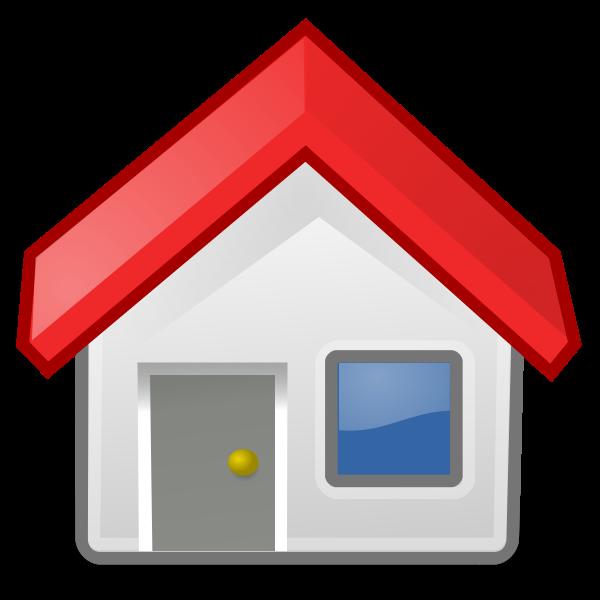 House icon vector clip art