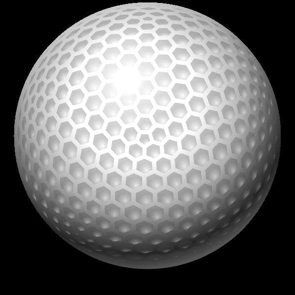 Big Golf Ball Free Svg