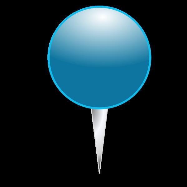GPS sign vector drawing