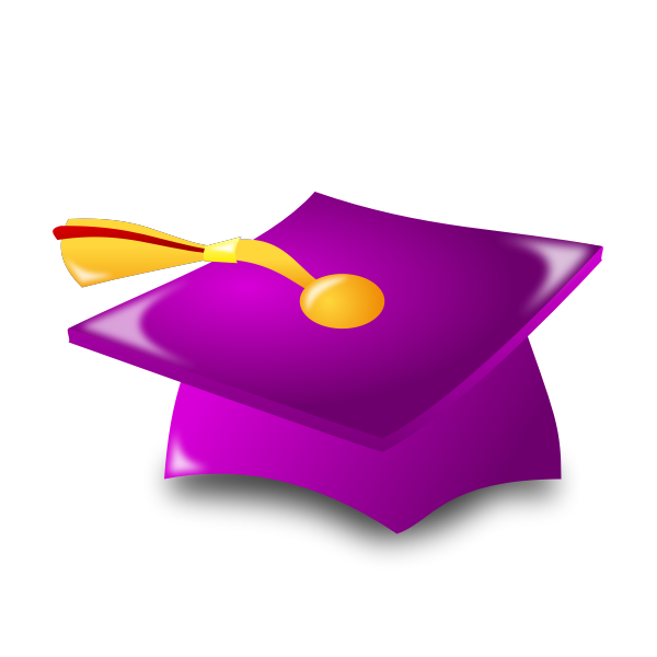 Purple academic har