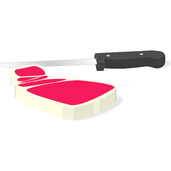 Steak vector graphics